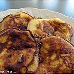 recette Pancakes ricotta banane