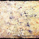 recette Crumble courgettes chèvre et miel