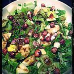 recette Salade de céleri aux pommes, noisettes et miel