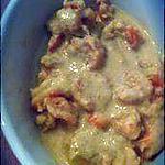 recette Curry thaï de crevettes au coco