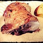 recette Cuisses de poulet farcies