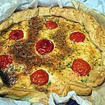 recette Quiche saumon/paprika