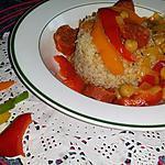 recette Poivrons à l'Andalouse