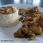 recette Curry de poisson