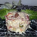 recette Salade de riz poulet merguez