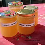 recette Confiture de nashis et poires