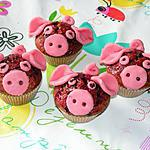 recette Muffins à la pâte d'amande