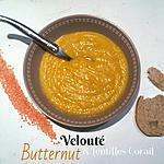 recette Velouté de Butternut, Lentilles Corail au Lait d'Amandes - Thermomix ou Pas