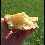 recette Gâteaux moelleux au citron et pralin