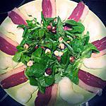 recette Salade de magrets fumés, poires et noisettes