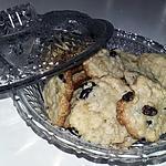 recette Cookies sans œufs a la banane et aux fruits secs