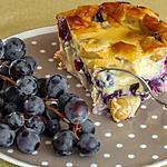 recette Clafoutis aux raisins