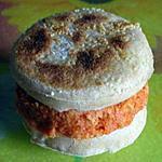 recette Mini sandwich pas comme les autres ou comment déguster un petit English muffins autrement!