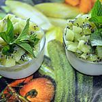 recette Panna cotta aux kiwis