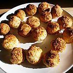 recette PETITES BOULES COCO-CITRON VERT