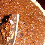 recette Tarte fudge aux noix