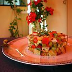 recette Tartare de légumes croquants...