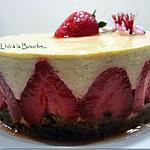 recette Bavarois à la rhubarbe et aux fraises Mara des bois...