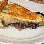 recette tarte aux pommes à la crème de marrons maison