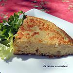 recette Omelette à la purée