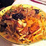 recette poelée de 4 légumes oubliés frits