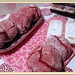 recette Craquelés aux biscuits roses de Reims
