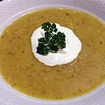 recette Velouté de cèpes et crème fouetté salée