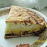 recette La tarte taquine : trois étages de fruits se cachent sous une folle meringue