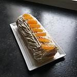 recette Roule à l orange  et clementine