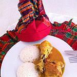 recette Poulet au coco ( Martiniquais )
