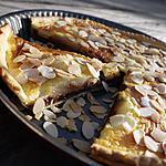 recette Tarte aux Poires, sur Chocolat Noir Croquant et Amandes