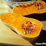 recette Courge Butternut Chèvre Thym Ail