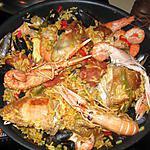 recette Paella poulet, fruits de mer