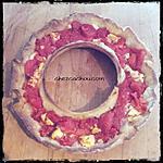 recette Couronne feuilletée à la tomate