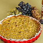 recette Tarte raisins noisettes