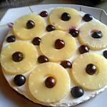 recette mon cheesecake délicieux a l'ananas (sans cuisson)