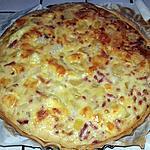 recette Quiche raclette