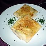 recette Bricks au fromage