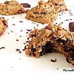 recette Biscuit aux noisettes et pépites de chocolat