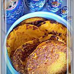recette Blinis au Potimarron