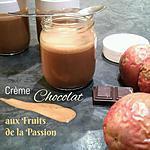 recette THERMOMIX: Crème Chocolat aux Fruits de la Passion