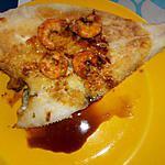 recette CARRELET (Plie) sauce d'huitre
