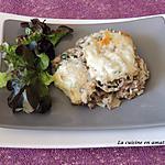 recette Hachis de boeuf aux légumes et riz