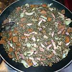 recette Lentilles aux lardons
