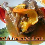 CANARD  A L'ORANGE A  MA FACON