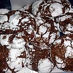 recette crinkles au chocolat