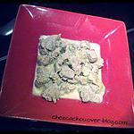 recette Filet mignon au roquefort