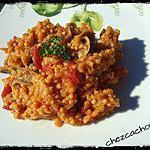 recette Millet aux tomates et cèpes