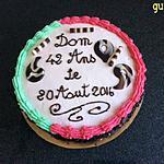 recette gâteau crème/mousseline-poires