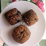 recette Muffins (base) (sans beurre) aux Daims à l'orange